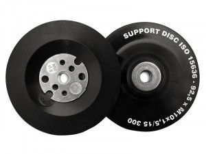 Flexipads World Class, Angle Grinder Pads - Soft Black for Curved Surfaces