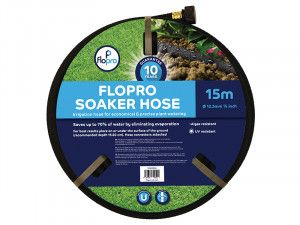 Flopro Flopro Soaker Hose 15m 12.5mm (1/2in) Diameter