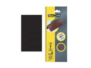 Flexovit, 1/3 Plain Sanding Sheets 93 x 230mm