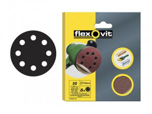 Flexovit, Hook & Loop Sanding Discs 115mm