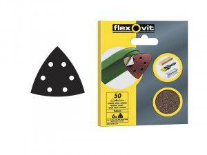 Flexovit, Delta Hook & Loop Sheets 94 mm
