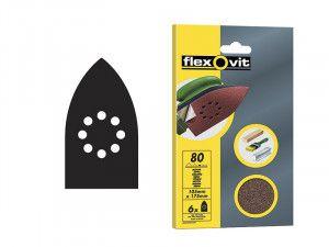 Flexovit, Detail Hook & Loop Sheets 105mm x 175 mm
