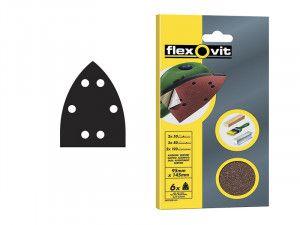 Flexovit, Detail Hook & Loop Sheets 95mm x 145 mm
