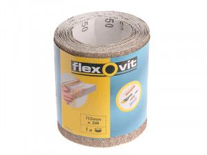 Flexovit, 115mm x 5m General Purpose Sanding Rolls
