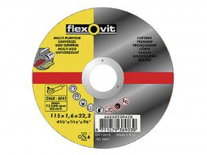 Flexovit Multi-Purpose Cutting Disc 230 x 22mm