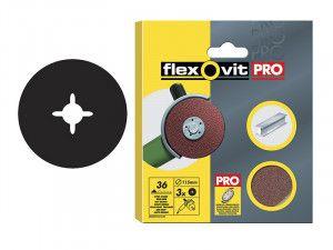 Flexovit, Aluminium Oxide Fibre Discs 125mm