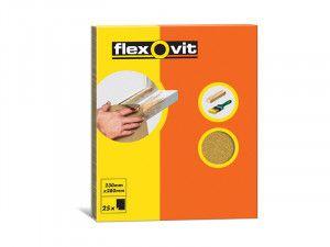 Flexovit, Glasspaper Sheets 230 x 280mm