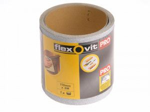 Flexovit, 115mm X 50m High Performance Sanding Rolls
