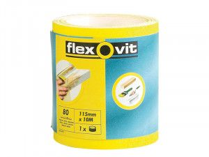 Flexovit, 115mm x 5m Finishing Sanding Rolls