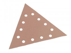 Flex Power Tools, Sanding Paper - Hook & Loop Backing Triangle