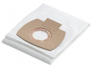 Flex Power Tools Fleece Filter Bags Pack of 5