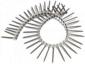 Forgefix, Collated Drywall Screws, Phillips, Bugle Head