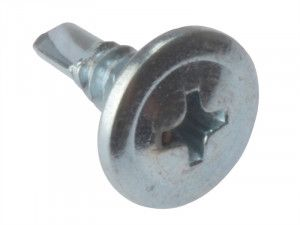 Forgefix Drywall Screws Wafer Head Self-Drill TFT ZP 4.2 x 13mm Bulk 1000