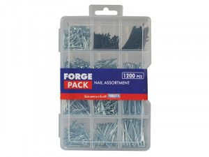 Forgefix Assorted Nail Kit Forge Pack 1200 Piece