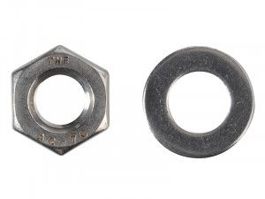 Forgefix, Hexagon Nuts & Washers, A2 Stainless Steel