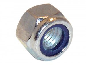 Forgefix, Hexagonal Nuts with Nylon Inserts, ZP