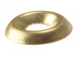 Forgefix, Screw Cup Washers, Polished Brass