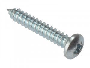 Forgefix, Self-Tapping Screws, Pozi, Pan Head, ZP