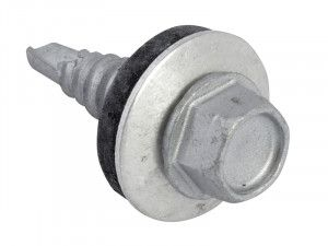 Forgefix TechFast Hex Head Stitching Screw Self-Drill 6.3 x 22mm Pack 100