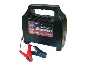 Faithfull Power Plus Battery Charger 20-65ah 4 Amp