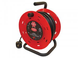Faithfull Power Plus, Open Drum Cable Reels