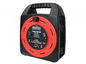 Faithfull Power Plus, Easy Reel Cable Reels, 2 Socket