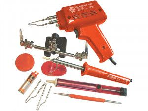 Faithfull Power Plus SGKP Soldering Gun 100 Watt & Iron Kit 30 Watt 240 Volt