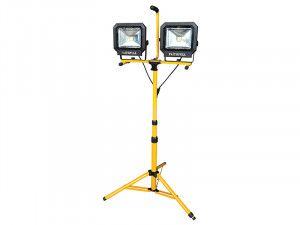 Faithfull Power Plus, LED Twin Tripod Site Lights