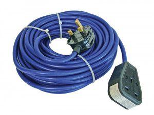 Faithfull Power Plus Trailing Lead 240 Volt 13 Amp 1.5mm Cable 14 Metre