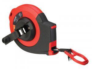 Fisco CC30ME 3:1 Gear Steel Tape 30m/100ft (Width 10mm) Class I