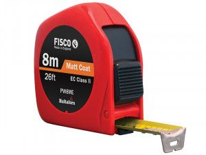 Fisco PW8ME Pro Flex Pocket Tape 8m/26ft (Width 25mm)