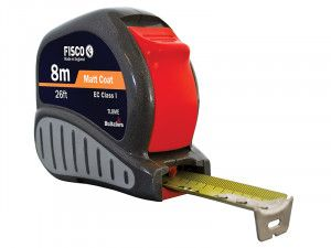 Fisco TL8ME Tri-lok Pocket Tape 8m/26ft (Width 25mm)