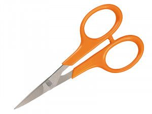 Fiskars Curved Manicure Scissors with Sharp Tip 100mm (4in)