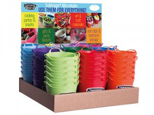 Red Gorilla Tubtrugs Mixed Micro Tub Display 108 Piece