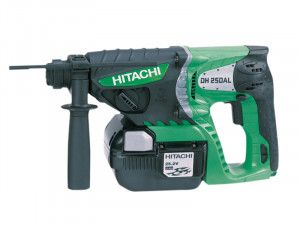 Hitachi DH25DAL SDS Plus Hammer Drill 25.2V 2 x 2.0Ah Li-Ion