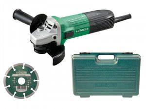 Hitachi, G12STX/J7 Mini Angle Grinder, Diamond Blade & Case