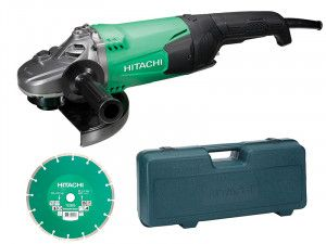 Hitachi, G23ST Grinder With Diamond Blade & Case