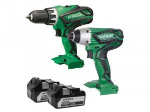 Hitachi KC18DGL Twin Pack 18V 2 x 5.0Ah Li-Ion