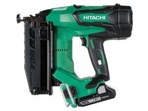 Hitachi Cordless 16G Straight Finish Nailer 18V 2 x 3.0Ah Li-Ion