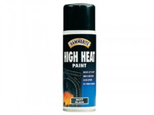 Hammerite High Heat Paint Aerosol Black 400ml