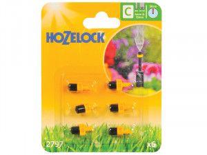 Hozelock Mist Micro Jet 4mm/13mm (6 Pack)