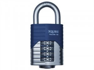 Henry Squire, Vulcan Boron Shackle Combination Padlock