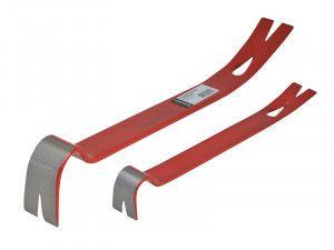 Hultafors Wrecking Bar 525mm (21in) & Mini Bar Set