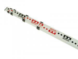 Stanley Intelli Tools 5 Section Aluminium Grade Rod 5m