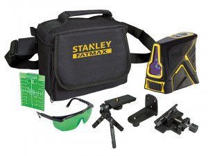 Stanley Intelli Tools Green Beam X Line Self-Levelling Laser