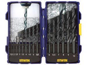IRWIN HSS Pro Drill Bit Set, 15 Piece