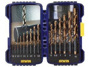 IRWIN Pro Drill Set Turbo Max Set of 15