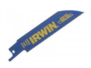 IRWIN 418R 100mm Sabre Saw Blade Metal Cutting Pack of 5