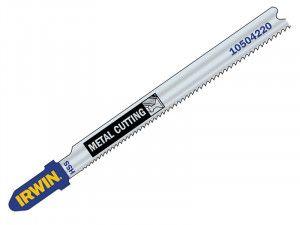 IRWIN Metal Cutting Jigsaw Blades Pack of 5 T118A