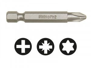 IRWIN, Phillips Power Screwdriver Bits